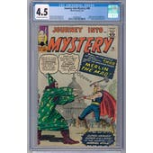 Journey Into Mystery #96 CGC 4.5 (OW-W) *2026369024*