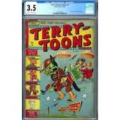 Terry-Toons Comics #1 CGC 3.5 (C-OW) *2027238005*