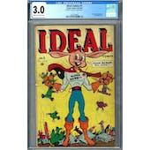 Ideal Comics #1 CGC 3.0 (C-OW) *2027239005*