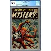 Journey Into Mystery #64 CGC 5.5 (OW-W) *2027239006*