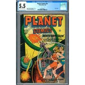 Planet Comics #43 CGC 5.5 (C-OW) *2027239011*