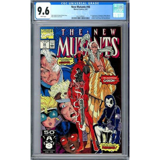 New Mutants #98 CGC 9.6 (W) *2027240001*