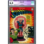 Superman #68 CGC 6.5 (W) Restored C-1 *2027295002*