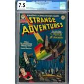 Strange Adventures #4 CGC 7.5 (OW-W) *2027297003*