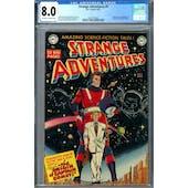 Strange Adventures #9 CGC 8.0 (OW-W) *2027297004*