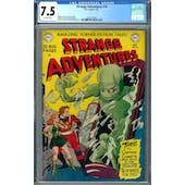 Strange Adventures #10 CGC 7.5 (OW) *2027297005*
