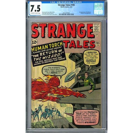 Strange Tales #105 CGC 7.5 (OW-W) *2027297007*
