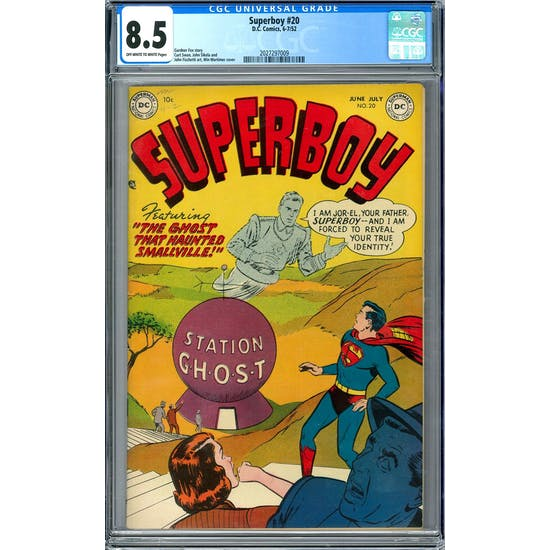 Superboy #20 CGC 8.5 (OW-W) *2027297009*