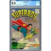Superboy #50 CGC 8.0 (OW-W) *2027297011*