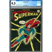 Superman #32 CGC 4.5 (OW-W) *2027297015*