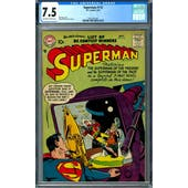 Superman #113 CGC 7.5 (OW-W) *2027297020*