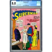 Superman #120 CGC 8.0 (OW-W) *2027297022*