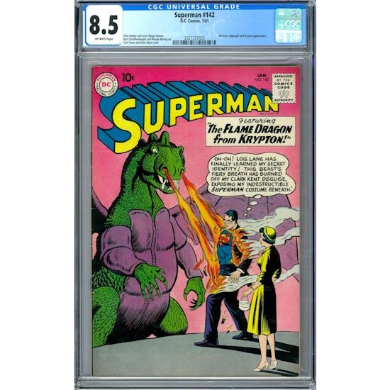Superman #142 CGC 8.5 (OW) *2027297023*