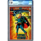 Superman #233 CGC 7.0 (OW-W) *2027298001*