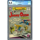 Superman's Pal Jimmy Olsen #15 CGC 6.5 (C-OW) *2027298005*