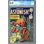 Tales to Astonish #10 CGC 3.0 (OW-W) *2027298006*