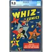 Whiz Comics #81 CGC 9.0 (C-OW) *2027298009*