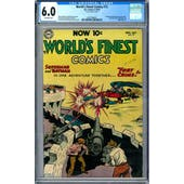 World's Finest Comics #72 CGC 6.0 (OW) *2027298013*