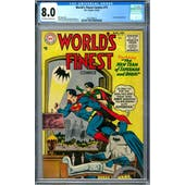World's Finest Comics #75 CGC 8.0 (OW-W) *2027298014*