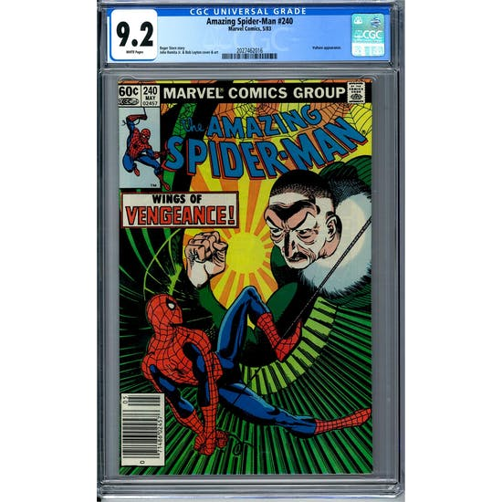 Amazing Spider-Man #240 CGC 9.2 (W) *2027462016*