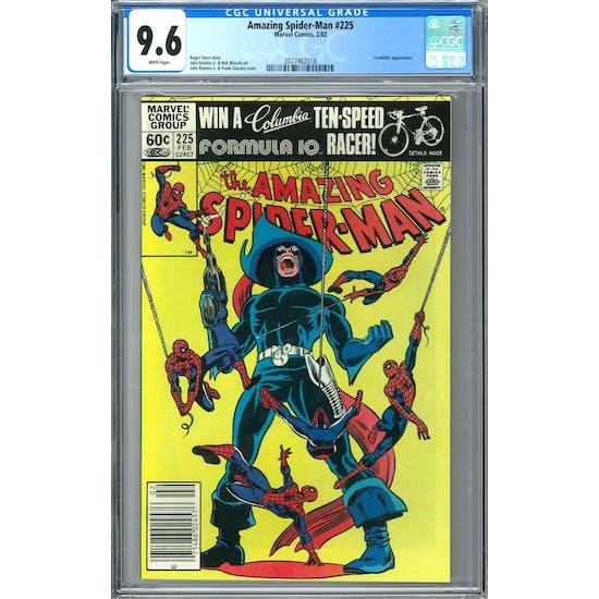 Amazing Spider-Man #225 CGC 9.6 (W) *2027462018*