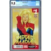 Captain Marvel #1 CGC 9.8 (W) *2027873018*