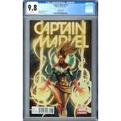 Captain Marvel #1 CGC 9.8 (W) Yu Variant *2027873021*