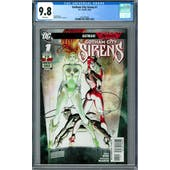 Gotham City Sirens #1 CGC 9.8 (W) *2027874005*