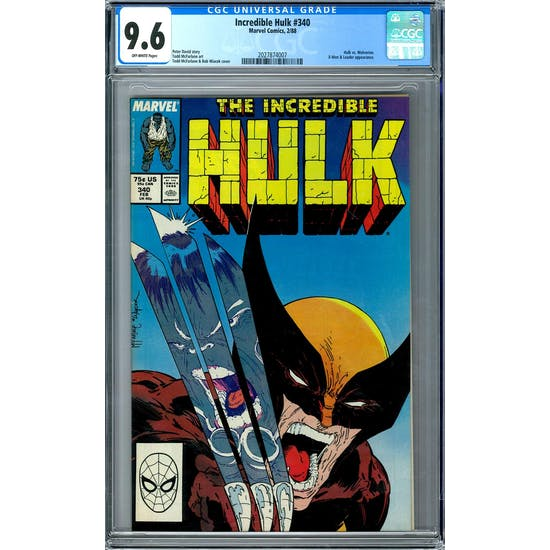 Incredible Hulk #340 CGC 9.6 (OW) *2027874007*