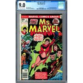Ms. Marvel #1 CGC 9.0 (OW-W) *2027874010*