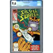 Silver Surfer #v3 #34 CGC 9.6 (W) *2027874022*