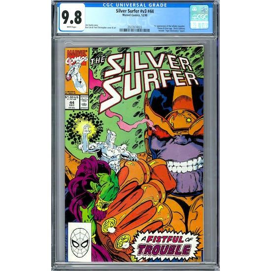 Silver Surfer #v3 #44 CGC 9.8 (W) *2027874023*