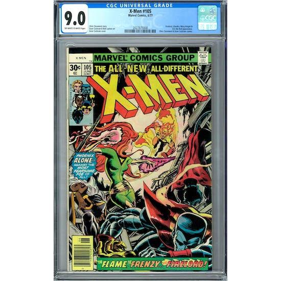 X-Men #105 CGC 9.0 (OW-W) *2027875008*