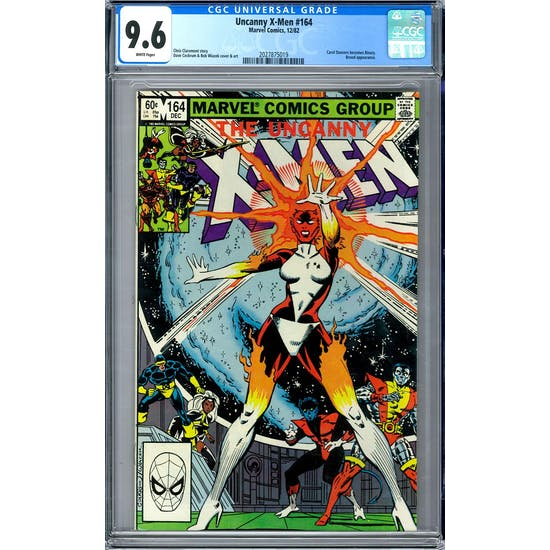 Uncanny X-Men #164 CGC 9.6 (W) *2027875019*