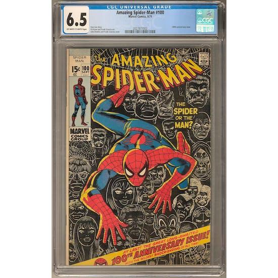 Amazing Spider-Man #100 CGC 6.5 (OW-W) *2027877002*
