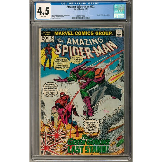 Amazing Spider-Man #122 CGC 4.5 (W) *2027877005*