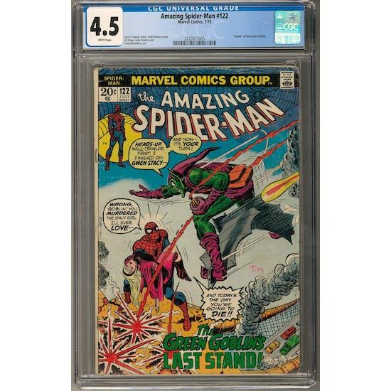 Amazing Spider-Man #122 CGC 4.5 (W) *2027877005*