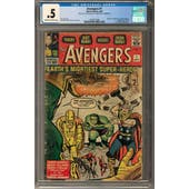 Avengers #1 CGC .5 (C-OW) *2027877006*