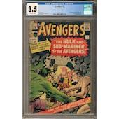 Avengers #3 CGC 3.5 (OW) *2027877008*