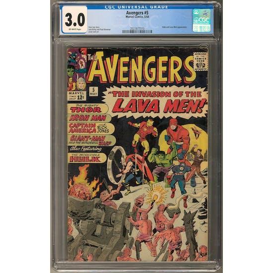 Avengers #5 CGC 3.0 (OW) *2027877010*