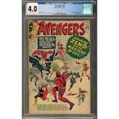Avengers #6 CGC 4.0 (C-OW) *2027877011*