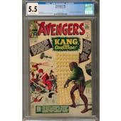 Avengers #8 CGC 5.5 (OW) *2027877012*