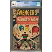 Avengers #9 CGC 6.0 (OW) *2027877013*