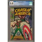 Captain America #117 CGC 5.0 (C-OW) *2027877019*