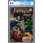Fantastic Four #65 CGC 4.5 (C-OW) *2027878002*