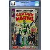 Marvel Super-Heroes #12 CGC 8.5 (OW-W) *2027878009*