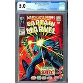 Marvel Super-Heroes #13 CGC 5.0 (W) *2027878011*