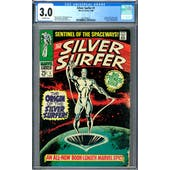 Silver Surfer #1 CGC 3.0 (OW) *2027878013*