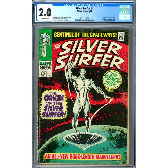 Silver Surfer #1 CGC 2.0 (OW) *2027878014*