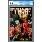 Thor #165 CGC 6.5 (C-OW) *2027878017*